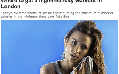 The new trend for 'revving up' your fitness (Evening Standard)